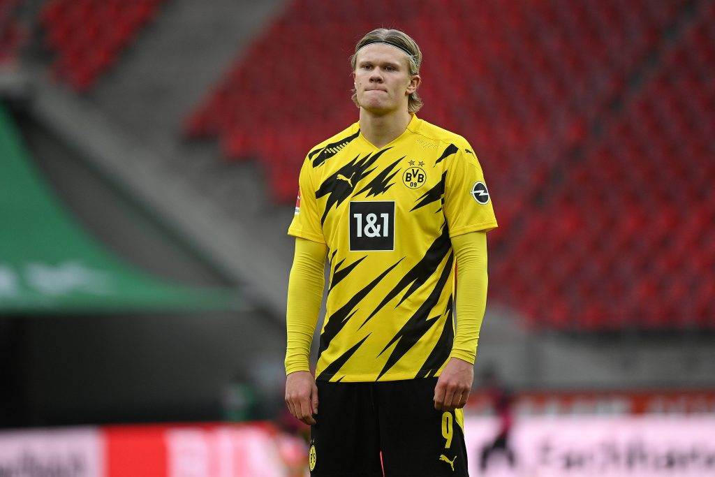 Manchester United To Pursue Harry Kane As Erling Haaland Rules Out Move