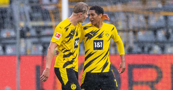 Erling Haaland Jude Bellingham Borussia Dortmudn 2